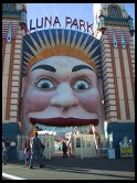 Digital photo titled luna-park-entrance