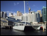 Digital photo titled darling-harbor-catamaran