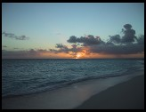 Digital photo titled sand-cay-sunset