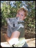 Digital photo titled eve-holding-koala-1