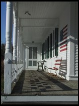 Digital photo titled chatham-flag-porch