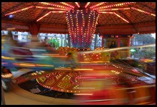 Digital photo titled carousel-one-sixth-second