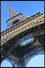 Digital photo titled eiffel-tower-tilted