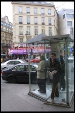 Digital photo titled phone-booths