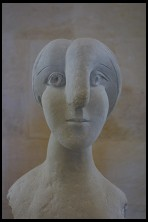 Digital photo titled picasso-woman-with-big-nose