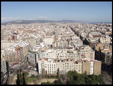 Digital photo titled barcelona-looking-northeast-from-sagrada-familia