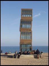 Digital photo titled barcelona-sculpture-on-beach