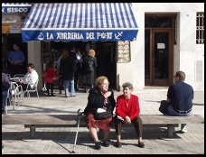 Digital photo titled barceloneta-harbor-front-restaurant