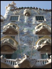 Digital photo titled casa-batllo-balconies
