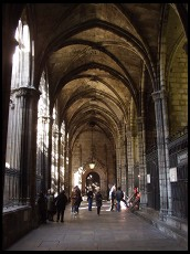 Digital photo titled cathedral-cloister