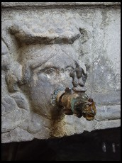 Digital photo titled cloister-fountain-detail