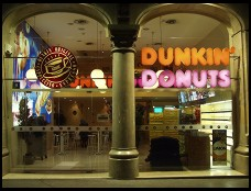 Digital photo titled dunkin-donuts-in-barcelona