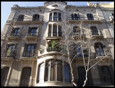Digital photo titled eixample-apartment-building