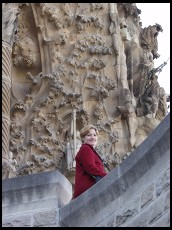 Digital photo titled eve-at-sagrada-familia-nativity-facade