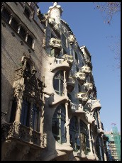 Digital photo titled illa-de-la-discordia-casa-amatller-and-casa-batllo