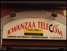 Digital photo titled kwanzaa-telecom