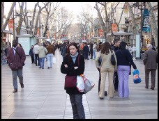 Digital photo titled la-rambla-1