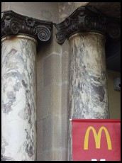 Digital photo titled mcdonalds-with-marble-columns