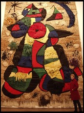 Digital photo titled miro-huge-tapestry