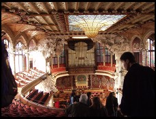 Digital photo titled palau-de-la-musica-catalana-interior