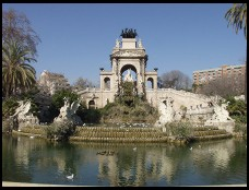 Digital photo titled parc-de-la-cuitadella-fountain