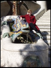 Digital photo titled parc-guell-eve-and-dragon