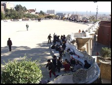 Digital photo titled parc-guell-limits-of-8-bits