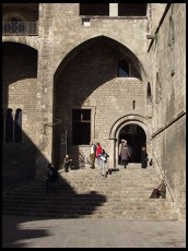 Digital photo titled placa-del-rei-doorway