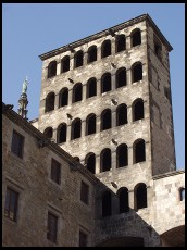 Digital photo titled placa-del-rei-tower