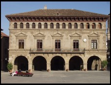 Digital photo titled poble-espanyol-courtyard