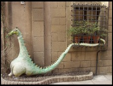 Digital photo titled poble-espanyol-dragon