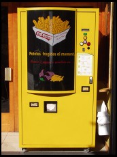 Digital photo titled pomme-frites-machine