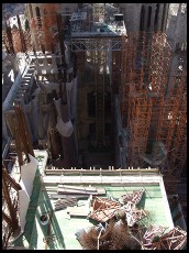 Digital photo titled sagrada-familia-construction