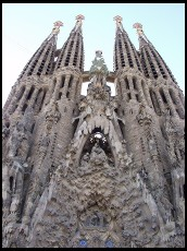 Digital photo titled sagrada-familia-nativity-facade