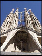 Digital photo titled sagrada-familia-passion-facade
