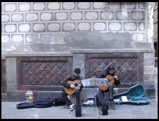 Digital photo titled street-musicians