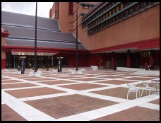Digital photo titled british-library-courtyard