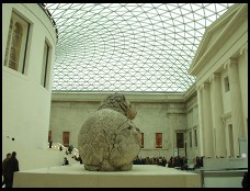 Digital photo titled british-museum-lion-butt-in-great-court