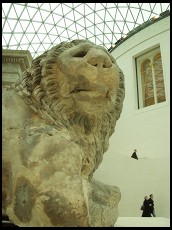 Digital photo titled lion-head-in-great-court