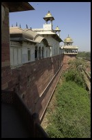 Digital photo titled agra-fort-outer-wall
