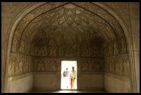 Digital photo titled agra-fort-palace-doorway