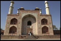 Digital photo titled akbars-tomb-entrance-gate