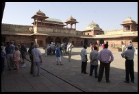Digital photo titled fatehpur-sikri-hindu-wifes-house