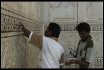 Digital photo titled indians-touching-the-marble
