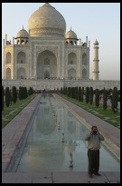 Digital photo titled photographer-capturing-his-friends-watching-the-sunset-on-taj-mahal