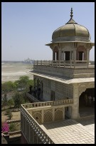 Digital photo titled shah-jahan-prison-and-taj-mahal