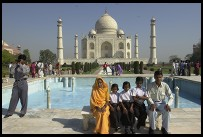 Digital photo titled taj-mahal-VIP-bench