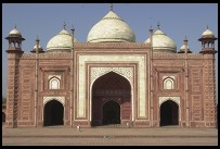 Digital photo titled taj-mahal-mosque