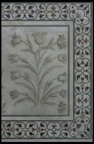 Digital photo titled taj-mahal-relief-and-pietra-dura