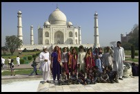 Digital photo titled taj-mahal-tour-group